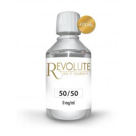 Base 50/50 0 mg de nicotine 275 ml