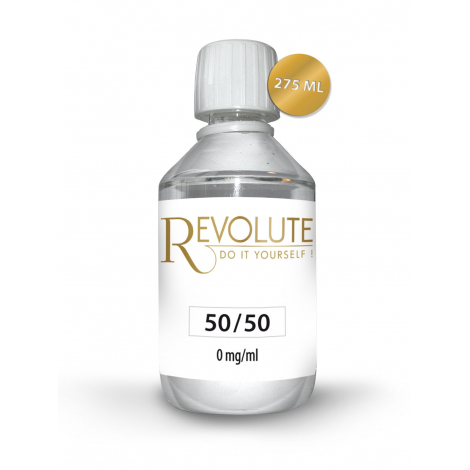 Base 50/50 0 mg de nicotine 275 ml