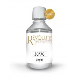 - Base 30/70 0 mg de nicotine 275 ml