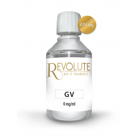 - Base 100% VG 0 mg de nicotine 275 ml